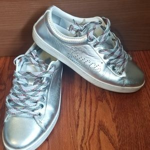 My FAVORITE pair of Gucci Silver Sneakers